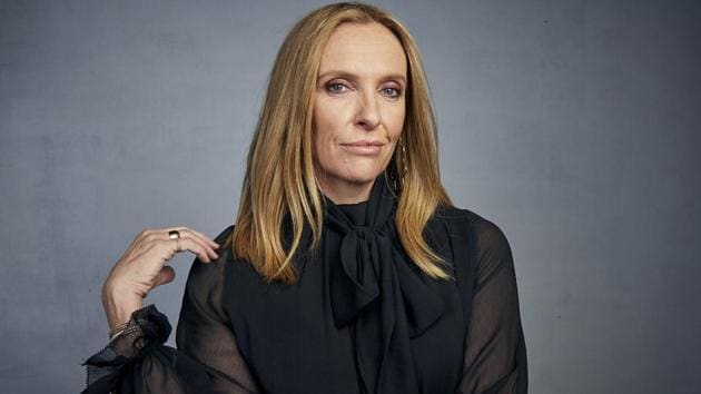 """Toni Collette poses for a portrait to promote the film """"Dream Horse"""" at the Music Lodge during the Sundance Film Festival.(Taylor Jewell/Invision/AP)"""