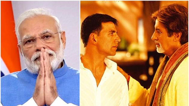 Akshay Kumar and Amitabh Bachchan responded to PM Modi's call to action.