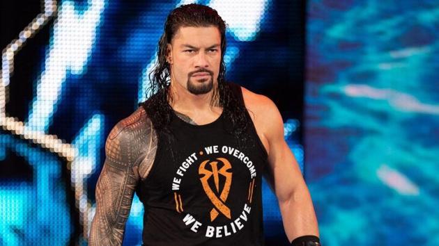 WWE superstar Roman Reigns.(WWE)