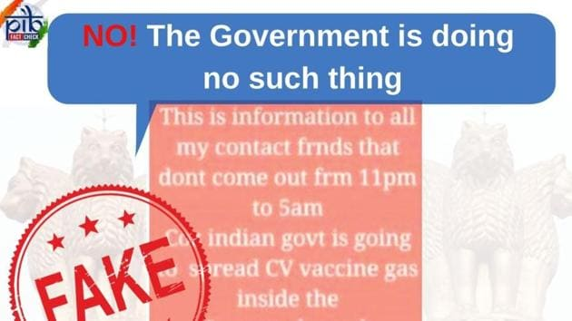 The image shared by PIB debunks the false claim.(Twitter/PIB)