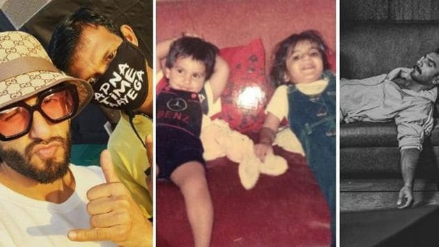 Ranveer Singh has been bonding with fans over 'Apna time Aayega' dialogues and masks.