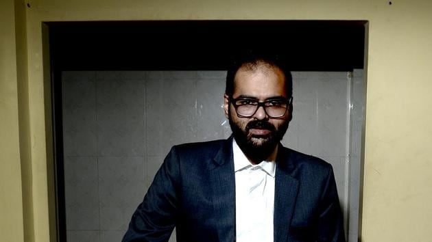 Kunal Kamra was handed a flying ban following an altercation with a journalist.(Abhijit Bhatlekar/Mint)