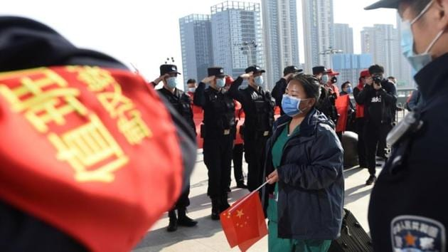 While COVID-19 first emerged in Wuhan in December, Beijing says it has now curbed its spread, with domestic cases dwindling to zero Thursday.(Reuters)