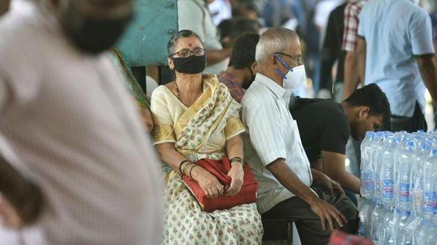 All four Covid-19 deaths in India have been of people over 60 years. This means even if older people stay indoors and young leave only for essential work, the elderly are still vulnerable to the virus, especially in India where many people live in multi generational families.(PTI photo)