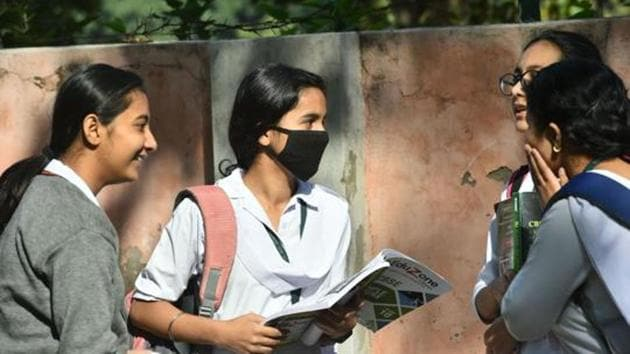 The board exams for Classes 10 and 12 were already conducted by the Gujarat Secondary and Higher Secondary Education Board earlier this month.(PTI/ file)