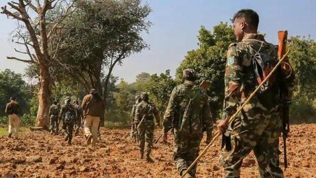 Police have found the bodies of the 17 jawans of state police in Minpa jungles of Sukma where a fierce encounter took place on Saturday.(File photo)