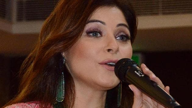 Kanika Kapoor has become the first Bollywood celebrity to test positive for the COVID-19 coronavirus.(AFP)