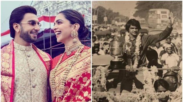 "Ranveer Singh and Deepika Padukone lauded Prakash Padukone for his ""immeasurable"" contribution to badminton."