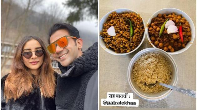 Rajkummar Rao and Patralekhaa showcase their culinary skills during the coronavirus quarantine.