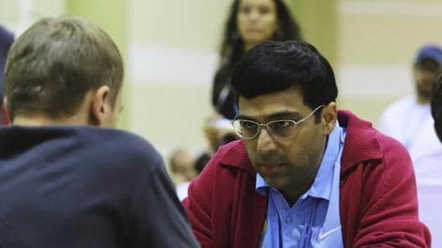 File photo of Viswanathan Anand.(Getty Images)