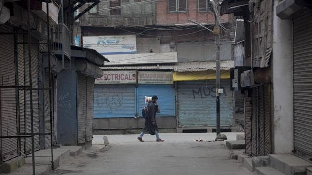 Social media users have also been expressing concern over the health of Kashmiri prisoners and how jails are prone to the pandemic.(AP)