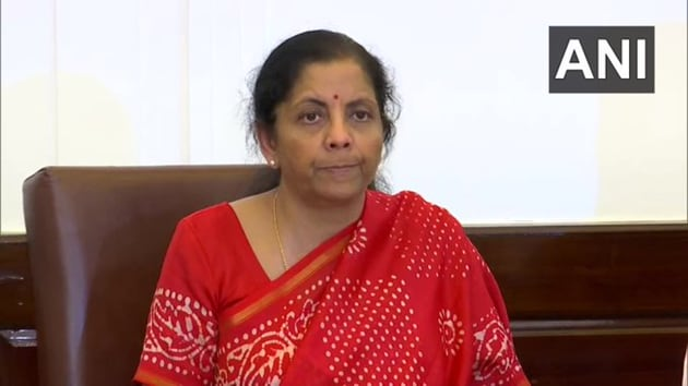 """Finance Minister Nirmala Sitharaman said """"Every attention is being given to the economy. Prime Minister is monitoring situation himself.""""(ANI)"""