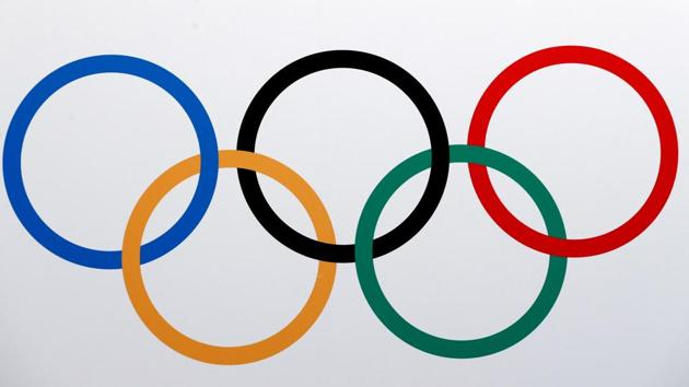 The Olympics rings logo is pictured in Lausanne, Switzerland.(REUTERS)