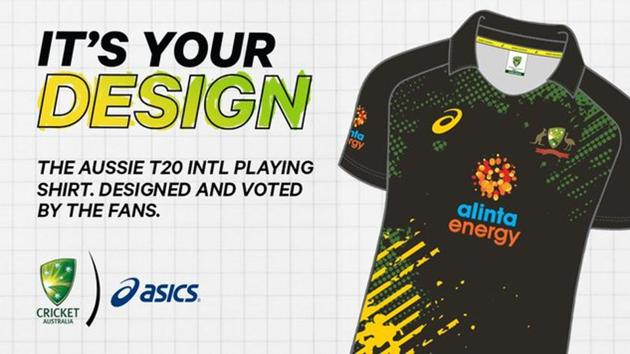 A picture of the new Australia jersey.(Twitter)