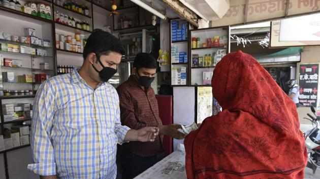 A repurposed clot-busting drug may work as an emergency measure for Covid-19 patients.(Dheeraj Dhawan/Hindustan Times)