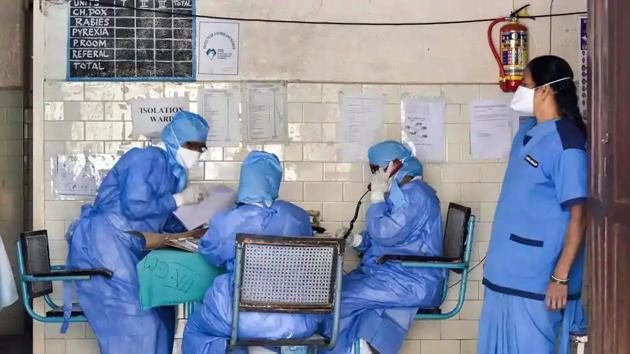 Coronavirus update: More than health insurance, most want personal protective equipment.(PTI File Photo)