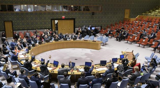 The now-nixed proposal to discuss Covid-19 in the UN Security Council had been moved by Estonia(UN Photo/Manuel Elias)