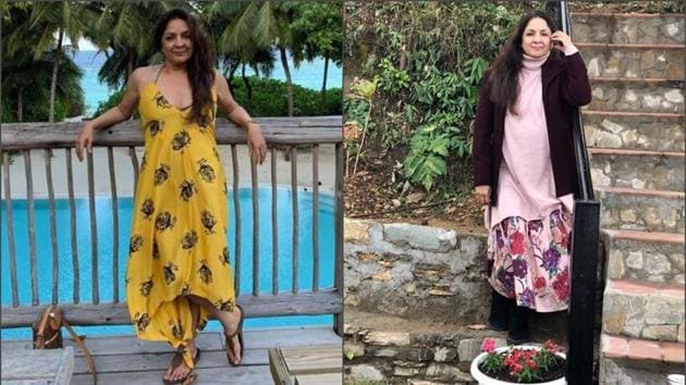 Neena Gupta's love for floral prints is proof enough why they should be your wardrobe staple.(Neena Gupta/Instagram)