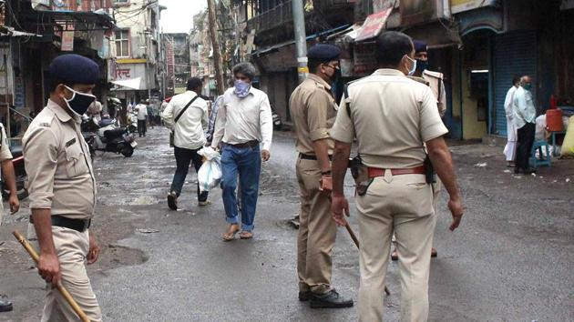 A case of culpable homicide not amounting to murder was registered against the policemen after protests by residents of a town in Madhya Pradesh's Vindhya region(PTI)