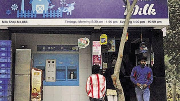 Pradipta Sahoo, business head of Safal said that the company is enforcing safe distancing at its stores to check spread of coronavirus.(HT file photo/ Image for representational purpose)