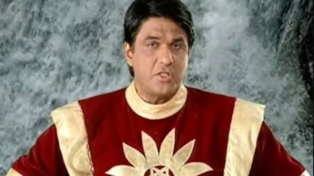 Mukesh Khanna in and as Shaktimaan.