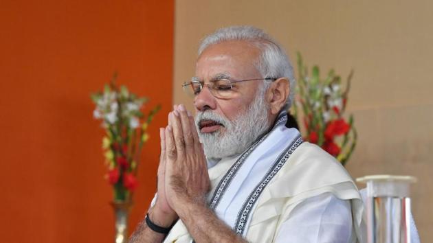The Prime Minister of India Narendra Modi(HT File)