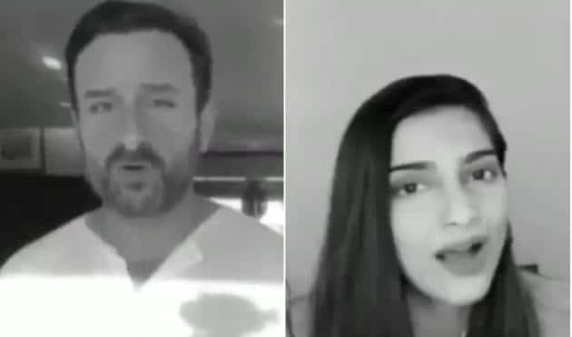 Saif Ali Khan and Sonam Kapoor feature in a new coronavirus awareness video.
