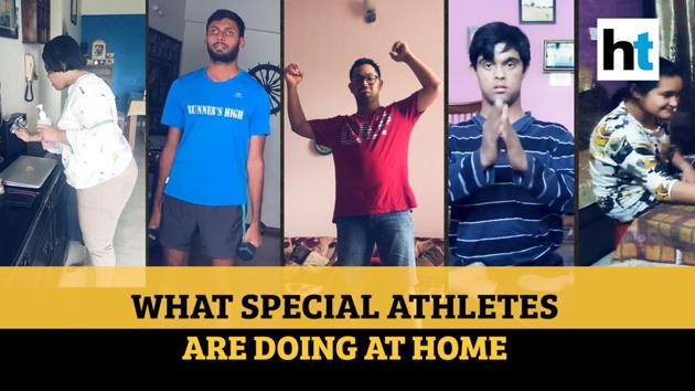 Amid coronavirus lockdown, Indian special athlets are utilising time by cooking, helping their mothers in household chores and practicing yoga. 24-year-old Ankush Saha, who was also seen cleaning utensils and sweeping floors, won silver for India at 2019 Special Olympics World Summer Games in Abu Dhabi. Special athlet Aparimita Singh was dusting furniture at her home during lockdown. Aparimita represented India in Special Olympics in 2019. While special athlet Yashika Bhatt spends quality time with family, Alankar Gupta is utilising time by practicing dance during lockdown. Alankar is sprinter from Jammu who kept India's flag flying high at Special Olympics. Special athlet Sahil Singh is cooking and practising yoga to kill time. The Special Olympics national champion has won medals in athletics, swimming, cricket, basketball and volleyball.