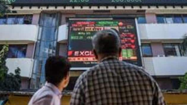 Benchmark indices Sensex and Nifty lost 23.8% and 26.03% respectively in FY20, worst since FY09.(PTI file photo)