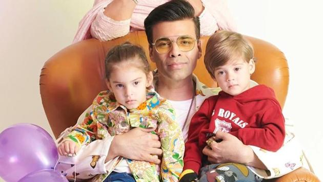 'Girls clothes, wear simple clothes': Karan Johar's kids have some strong opinions...