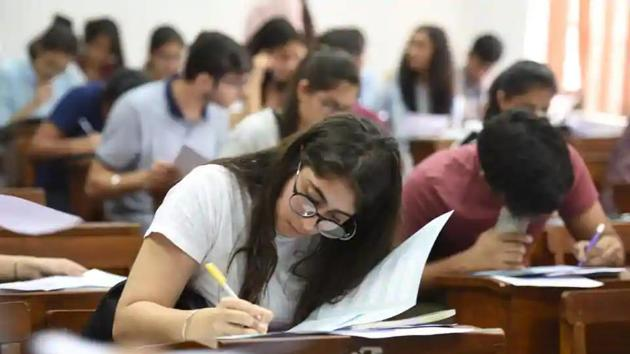 The examination was scheduled to be conducted on April 19.(HT file)
