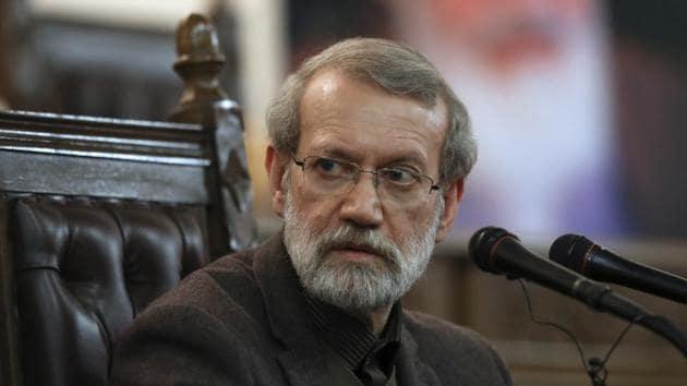 Iran's Parliament Speaker Ali Larijani.(AP file photo)