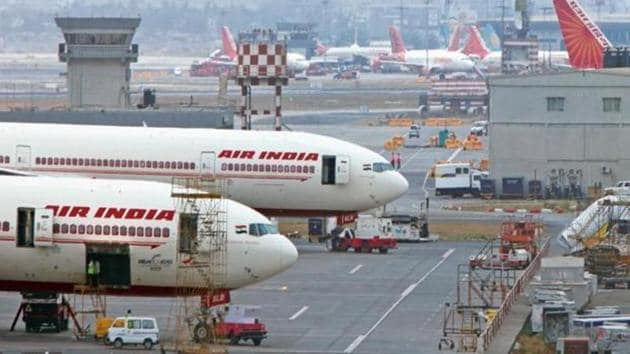 National carrier Air India today announced that it will not be taking any bookings for domestic and international travel till April 30.(HT file photo)
