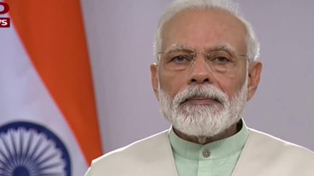 The Prime Minister shared the video message on a day the country entered the 10th day of the nationwide lockdown(ANI/Twitter)
