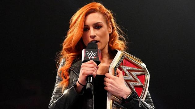 Becky Lynch.(WWE)