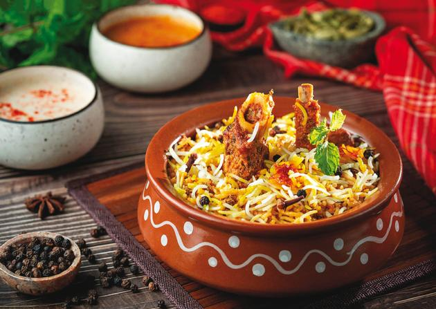 Dishes like Hyderabadi mutton biryani are worth ordering from Sassy Begum