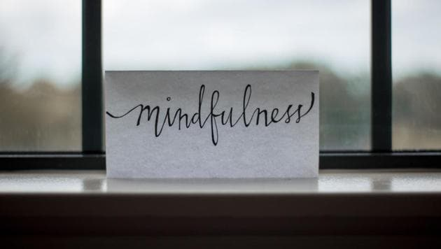 Mindfulness is when people are centred and living in the moment, rather than dwelling in the past or worrying about the future.(Unsplash)