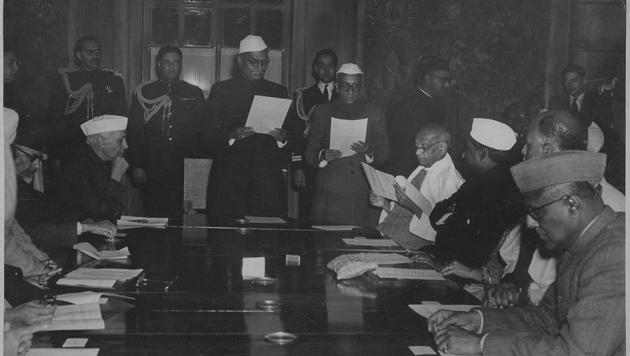 To accomplish these varied and complex tasks, Nehru and Patel recognised that, in the choice of their Cabinet colleagues, they must not be constrained by partisan considerations.(HT ARCHIVES)