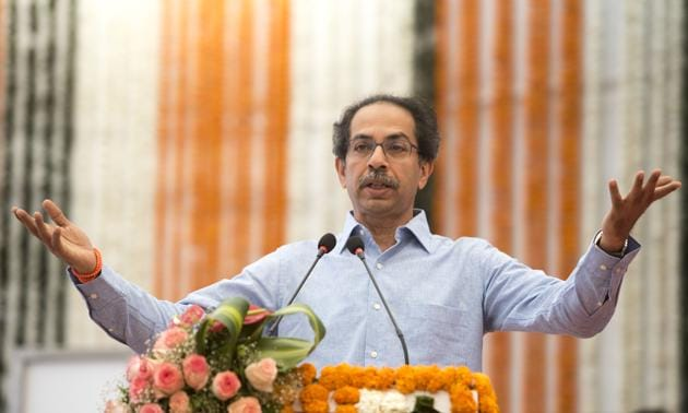 Covid-19: Maharashtra CM Uddhav Thackeray has said the decision whether the 21-day lockdown will be extended in the state will depend upon its people and how they follow the government's directives(Satyabrata Tripathy/HT Photo)
