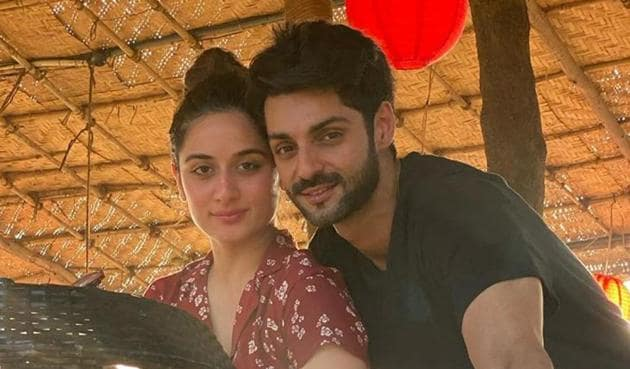 Karan Wahi with girlfriend Uditi Singh.