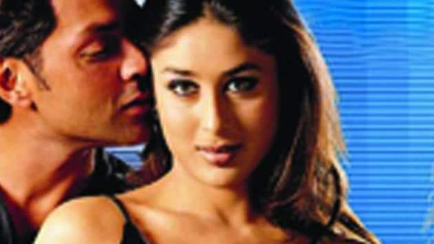 Kareena Kapoor and Bobby Deol worked together in Ajnabee.