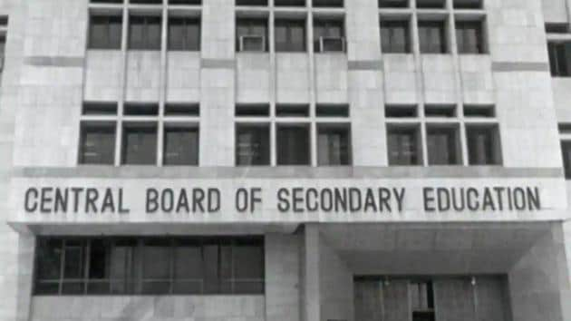 Central Board of Secondary Education.(HT file)
