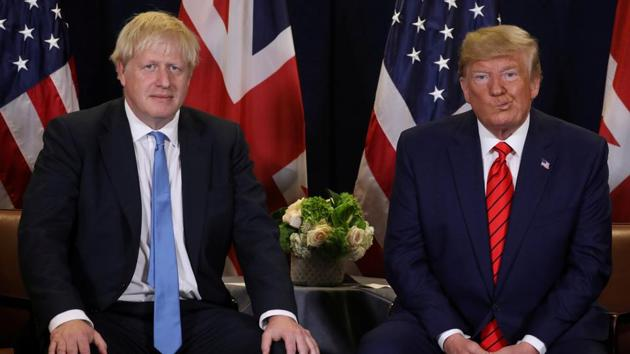 Coronavirus update: Donald Trump said that he had asked two US pharmaceutical companies (not named) to contact Boris Johnson's doctors.(REUTERS)