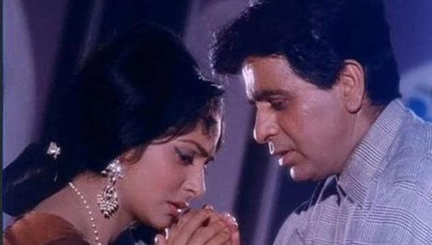 Waheeda Rehman and Dilip Kumar have worked together in films such as Dil Diya Dard Liya (1966), Ram Aur Shyam (1967) and Aadmi (1968).