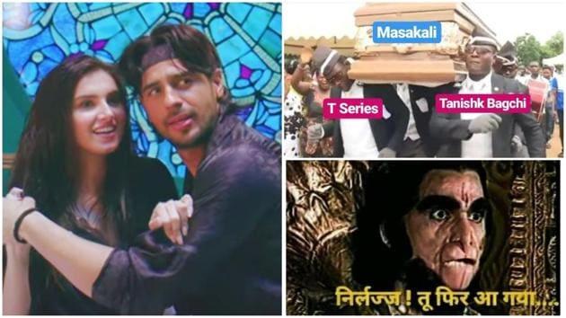 Sidharth Malhotra, Tara Sutaria's Masakali 2.0 video feels like leftovers from their film Marjaavan.