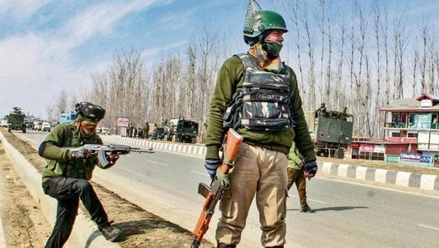 This is the third encounter in Kashmir in the last four to five days(PTI photo)