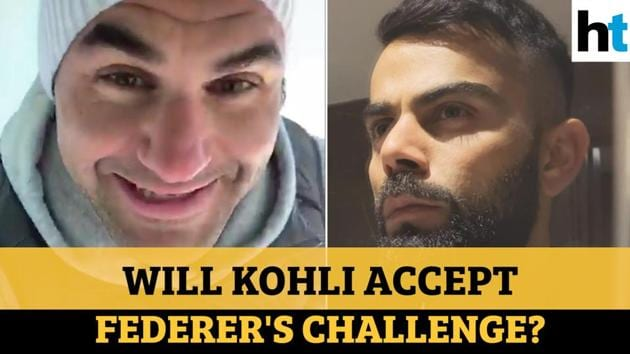 Tennis great Roger Federer posted a video on Twitter and followed up with a challenge for cricketer Virat Kohli. Federer posted a 'solo drill' as part of his home training routine. It involved bouncing a ball off a wall with a racquet. He challenged a host of celebrities and sportspersons to share their home training routines. Apart from Kohli, the others included footballers like Cristiano Ronaldo, basketball players like Stephen Curry, actors like Hugh Jackman, and even businessman and philanthropist Bill Gates.