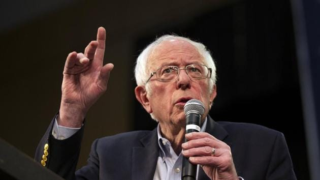 Bernie Sanders plans to address supporters during a livestream at 11:45 ET (1545 GMT), a statement said.(AP file photo)