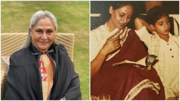 Jaya Bachchan is in Delhi while her family is in Mumbai.