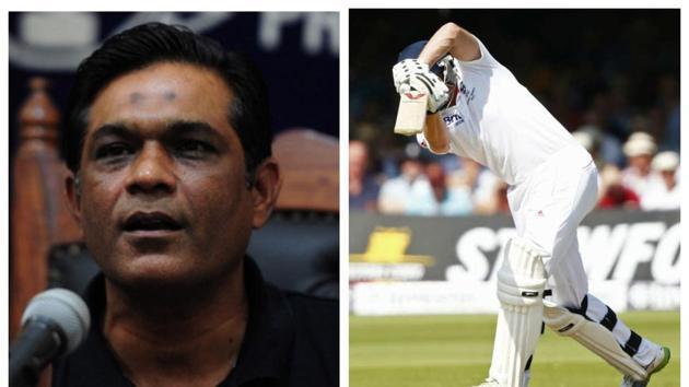 File photo of Rashid Latif and cricket.(File)